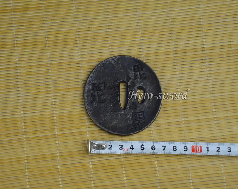 Japanese Katana Real Warrior Tsuba Samurai Sword Guard Alloy Sword Fitting