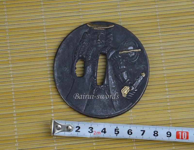 New Japanese Katana Tsuba Samurai Sword Alloy Guard Japanese Katana Fittings